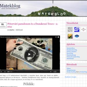 Matek-blog